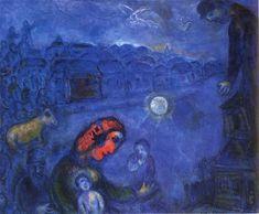 Blue Village by Marc Chagall