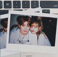 Jaehyun x Lalisa ( Lisa Blackpink Wallpaper, Couple Wallpaper, Korean Couple, Best Couple, Kpop Couples, Cute Couples, Korean Best Friends, Fake Photo, Ulzzang Couple