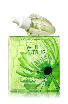 Bath & Body Works Wallflowers Fragrance White Citrus 2 Pack Refill Bulbs
