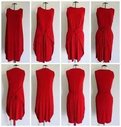 Kielo Wrap Dress - Named patterns - Stylingvariationen