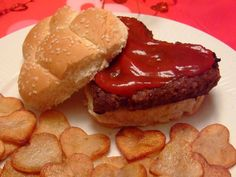 Valentine's Day Dinner Ideas from Celebrating Holidays i was actually thinking of doing love burgers on valentines day!!