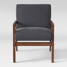 Full of handcrafted mid-century modern style, the Peoria Wood Arm Chair stylish accent to any room from Target