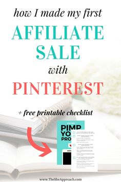Did you know you can make money online by using a combination of Pinterest and affiliate marketing? Learn all about how I implemented affiliate links on pinterest, brought traffic to my blog and my my first affiliate sale. A great strategy for bloggers to