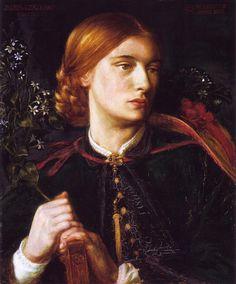 Dante Gabriel Rossetti - 195 artworks - WikiArt.org