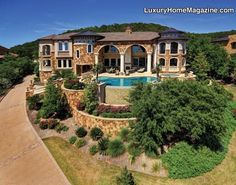 Luxury Home Magazine Austin #Luxury #Homes #Architecture #Pools #Backyards #Estate #Mansion