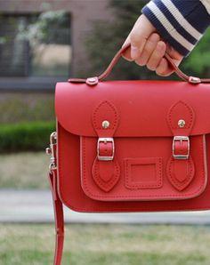 8b8a1ff04d Mini cute leather Satchel messenger School crossbody Shoulder Bag for girl  women Leather Satchel