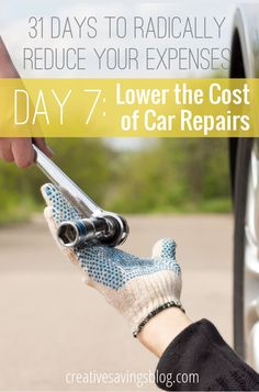 Don't let your car turn into a money-suck -- follow these 6 tips to keep repairs as low as possible!