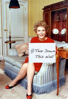 Nancy Reagan spent a lot of money on her wardrobe. She loved the color red and one shoulder dresses. She always had a good sense of her own style, but she was criticized for her glamorous clothing. 8th Grade History, Ap Us History, Teaching Us History, High School History, History Activities, Study History, History Teachers, American History, Canadian History