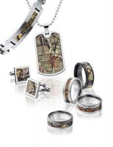Camo Full Jewelry Set #hunting