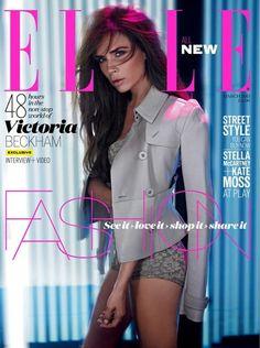 Victoria Beckham For ELLE UK