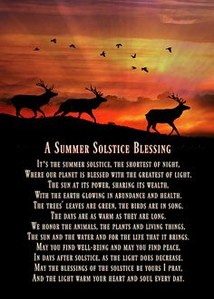 Summer Solstice Blessings, Native American Inspired Herd of Elk card. Personalize any greeting card for no additional cost! Summer Solstice Ritual, Solstice Festival, Solstice And Equinox, Winter Solstice, Summer Equinox, Blessing Poem, Celtic Culture, Sabbats, Happy Summer