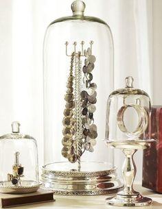 Bridesmaid Gift #5: Gorgeous Cloche Jewelry Storage #bridesmaidgift