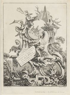 """Bound Volume, """"Frontispiece for Book 4, in Eight books of Ornament"""", 1741–47 