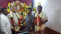 N Nagaraju corporator,bangalore ward 169 corporator,bbmp corporator byrasandra,Hi-Tech Ward in Bangalore Pooja at temple