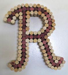 Wine Cork Letter Cork Art - Made to Order