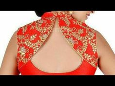 High neck collar wala blouse cutting - Lubec Сlick here pictures and get coupon Chudidhar Neck Designs, Neck Designs For Suits, Blouse Back Neck Designs, Sari Blouse Designs, Fancy Blouse Designs, Designer Blouse Patterns, Kurta Designs, Sleeve Designs, Mehndi Designs