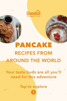 Tuesday 16th February is Pancake Day and that means whipping out the frying pan and preparing yourself for a delicious breakfast, lunch or dinner. Recently, we haven't been able to travel or even pop out to our favourite restaurants, so we're taking our taste buds on a journey with these mouth-watering recipes instead. Get the kids involved (they'll have great fun mixing things together) and fill your plates with these sweet and savoury treats. Weetabix Cake, Sauce Recipes, Cooking Recipes, Grilled Desserts, Baked Pancakes, Breakfast Wraps, Healthy Cake Recipes, Crepe Recipes, Carousels