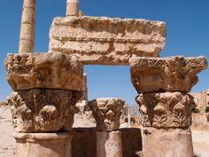 アンマン城砦:ヘラクレス神殿 | Temple of Hercules in Citadel, Amman