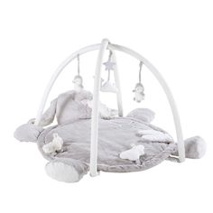 You'll find it hard to resist the cuteness of the ARTHUR Grey Rabbit Activity Mat 90 x Used as a rug, this giant rabbit comforter will ensure Baby Doll Accessories, Home Accessories, Small Furniture, Sofa Furniture, Casa Jenner, Grey Cot, Tie Top Curtains, Baby Changing Mat, Activity Mat