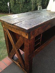 Bunk design with farm barn wood