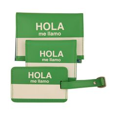 Cool travel bag idea. They also come in French and a few other languages I can't be bothered to name at the moment.