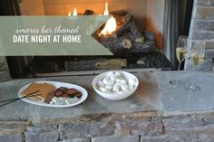 S'mores Themed Date Night at Home