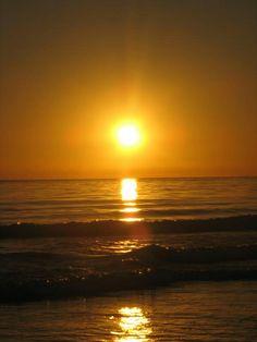 Sunset Carpinteria beach...maybe 2006