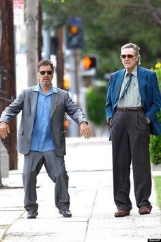 Al Pacino and Christopher Walken: