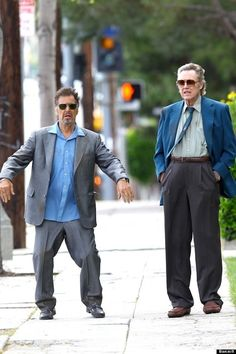 Al Pacino and Christopher Walken: | The 45 Most Legendary Pictures Ever Taken