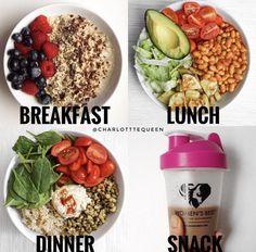 Meal prep minus shake