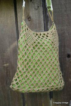 Gorgeous Hemp Macrame Bag $19.99