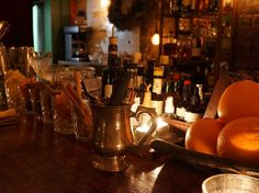 Evans and Peel Detective Agency |Ring the doorbell and ask to see the detective at this sleuthing speakeasy. It's lit by candlelight for an intimate vibe, and they also serve food, so you can settle in for the evening.