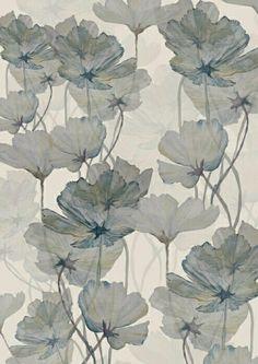 Abigail Hutton illustration for FAKE magazine Art And Illustration, Motif Floral, Floral Prints, Textile Patterns, Print Patterns, Flower Patterns, Pattern Art, Poppy Pattern, Surface Pattern