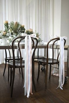 Wedding Details: Bows
