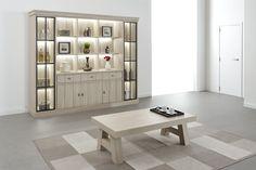 meubelen nieuwe meubelen online meubelen online meubelen kopen Corner Sectional Sofa, Home Room Design, House Rooms, Orange, Shoe Rack, Dining Room, Relax, Shelves, Interior Design