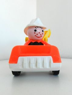 Vintage 1970s Fisher Price Little People Small Fire by JeweledLuv, $10.00