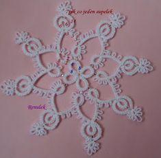 Frywolitki, Tatting, Chiacchierino: sypie śnieg, sypie śnieg, dzwonią dzwonki sań...