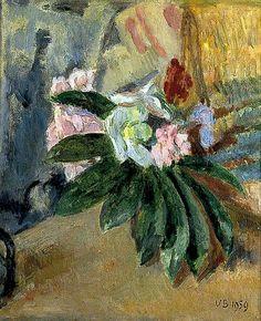 Vanessa Bell (1879-1961)  Still Life Of Flowers 1959