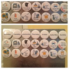 Hey, I found this really awesome Etsy listing at https://www.etsy.com/listing/256289066/chore-magnets-175-round-magnets-set-of
