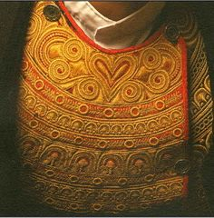 Les broderies du costume bigouden   Finistère Bretagne