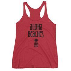 Beach Triblend Tank Top - Ladies'