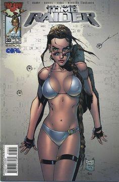 Tomb Raider 33 Bikini Swimsuit Variant First Print Tony Daniel Lara Croft   eBay