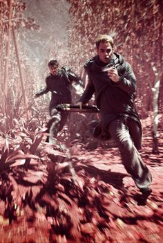 Star Trek Into Darkness.  This was the coolest part! (What is it?  I don't know, but they were bowing to it!)