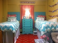Ole Miss Martin Hall Rooms | tootledoo designs: Dorm Rooms