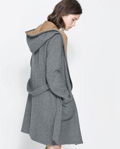 beautiful Wool Coat grey color ideas 2014