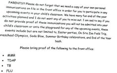 A letter sent home to parents from a school in California. The issue here, friends, is freedom of choice. This is what will be examined in the ground-breaking docu-series, The Truth About Vaccines, airing April 12-18. Click through to watch the trailer & sign up as our guest to watch FREE & ONLINE. The lives or our children depend on it! Image borrowed with permission from the @brittneykara Instagram account. Please re-pin. Together we are saving lives everyday. <3