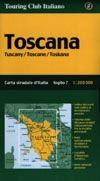 driving in italy Slow Travel Italy - Road Maps, touring club italiano TCI regional and road atlases