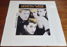 Depeche Mode Vintage Vinyl Record Album Catching Up with Depeche Mode – Offbeat Avenue