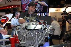 Exhibitors demonstrate their latest products at the 2012 PRI.