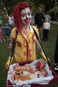 Creepy Ronald McDonald